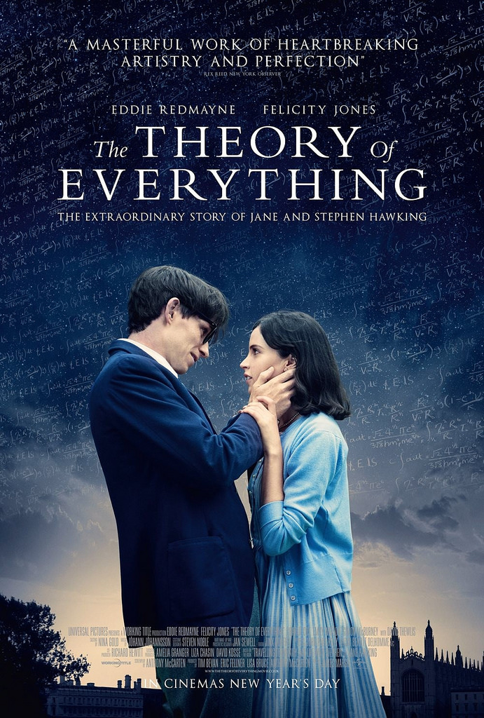 The Theory of Everything (2014) – DVD – A Masterpiece